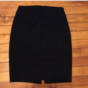 Express Skirts - Black fitted pencil skirt from Express